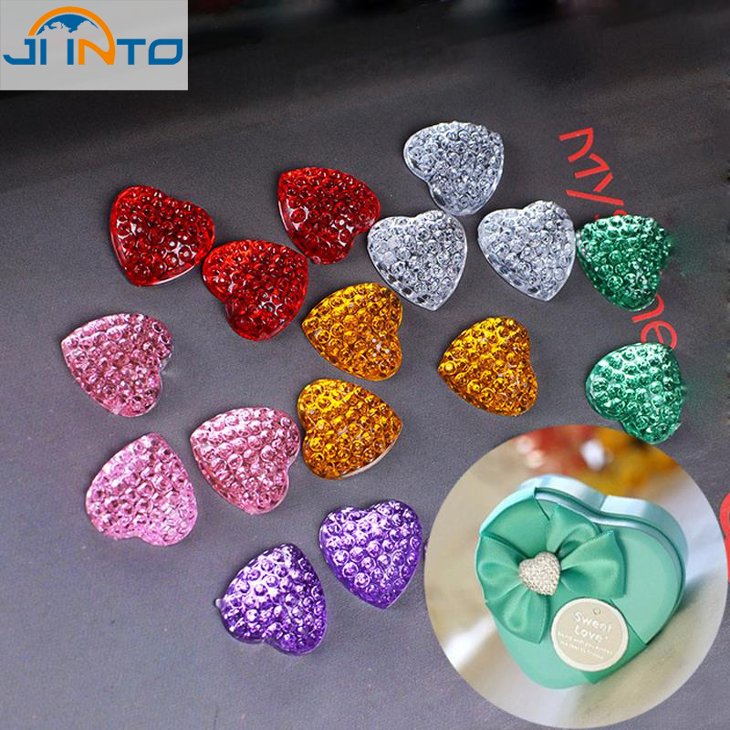 20PCS Candy Gift Boxes Fitting heart shape Diamond strass Wedding Party Favor box decoration hotfix rhinestones candy box favor(China (Mainland))