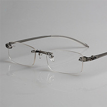 Big promotion! High Quality Rimless Ultra-light TR90 Reading Glasses Men Women Comfy Resin Clear Lens Presbyopic Glasses CI1011(China (Mainland))