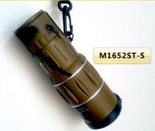 New Top Quality 16X Dual Focus Desert Monocular Telescope Camo 16x52 with Green Coated and Big Lens as Military Theme(China (Mainland))