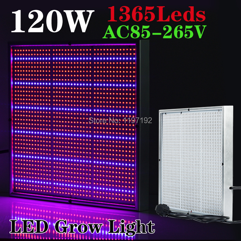 Освещение для растений Ouya 120W 1131Red:234Blue ac85/265v 120W led grow light 100w full spectrum led grow light veg flower hydroponics indoor plant lamp panel flower high yield ac85 265v