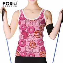 Buy FORUDESIGNS Women's Tank Tops Femme Sleeveless Candy Color Women Tee Shirts Solid Basic Wild Model Female Top Shirt Woman for $14.07 in AliExpress store