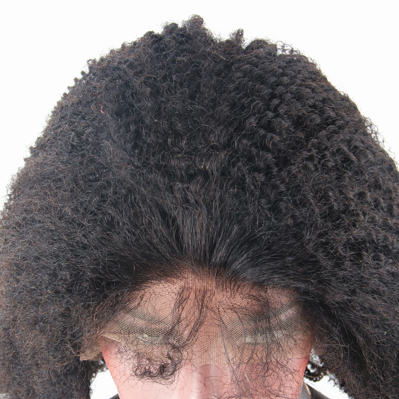 HTB1H3lcQXXXXXapapXXq6xXFXXXS - Mongolian Afro Kinky Curly Wigs Full Lace Human Hair Wigs For Black Woman Natural Curly Dreaming Queen Remy Hair
