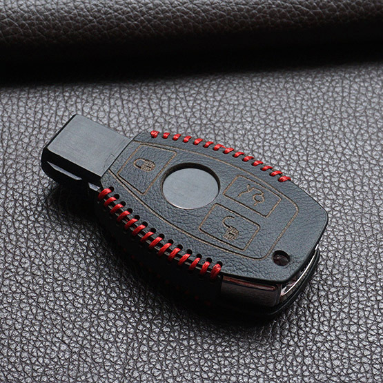 new sport style leather cover wallet key remote case for mercedes benz w203 w210 w211 amg w204 C E S CLS CLK CLA SLK Classe(China (Mainland))