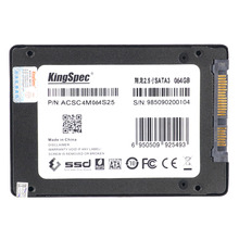"""New Arrivel KingSpec SATA III 3.0 2.5"""" 64GB MLC Digital SSD Solid State Drive with Cache for Computer PC Laptop Desktop(China (Mainland))"""