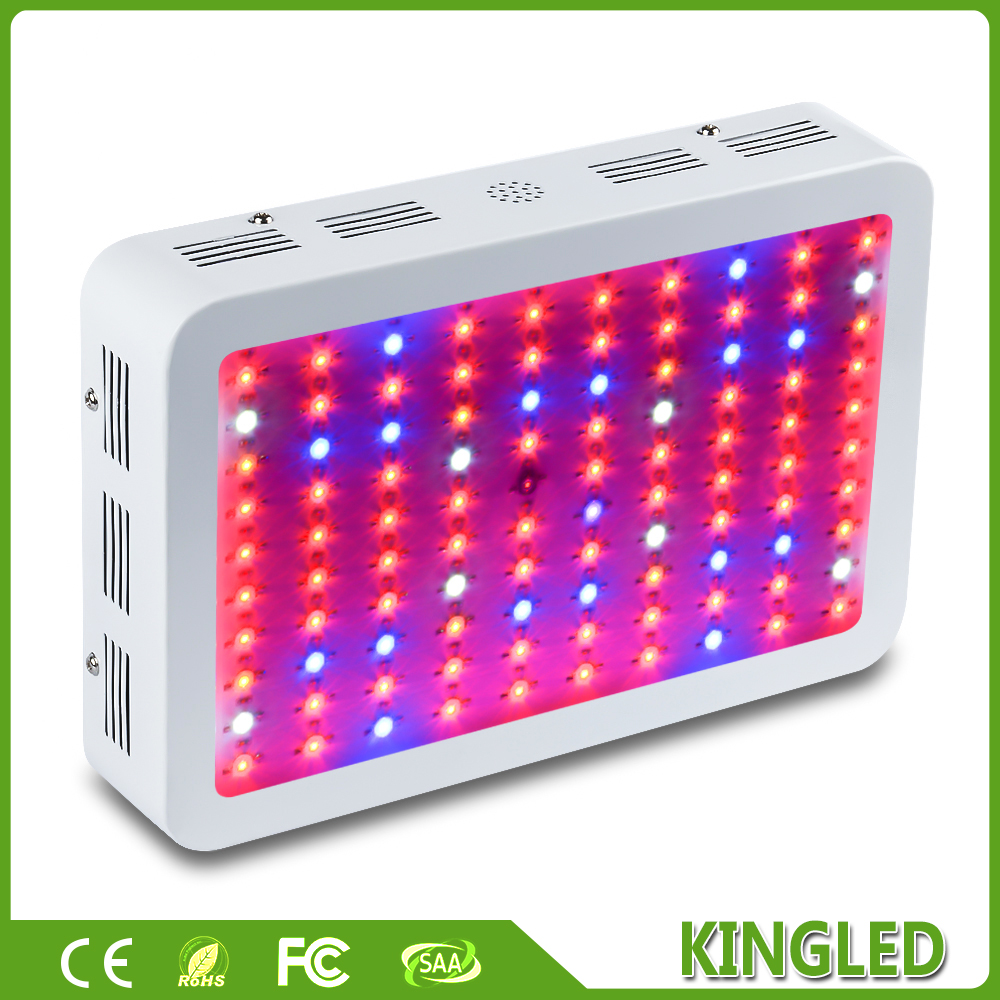 KingLED 300W White Full Spectrum LED Grow light Panel For Medical Flower Plants Vegetative and Flowering Stage(China (Mainland))