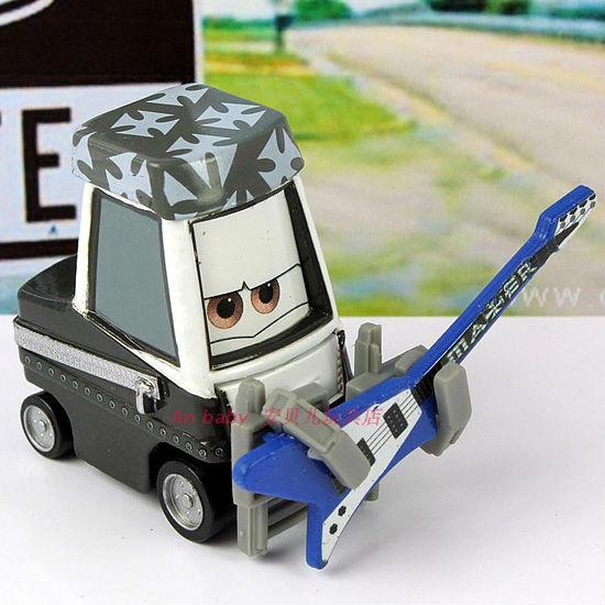 Origianl Pixar Cars Diecast toy Mater Rock Singer figure loose - LSM'S Store store