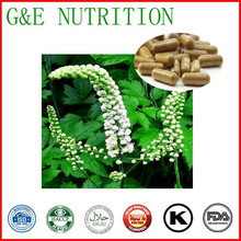 500mg x 600pcs Black Cohosh Capsule with free shipping(China (Mainland))