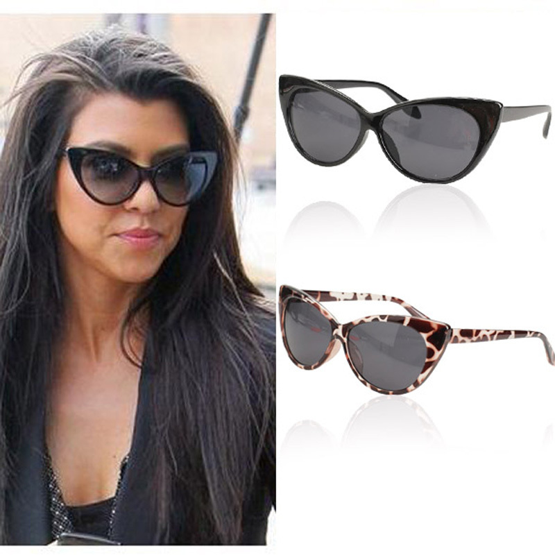 BS#S Hot sale fashion Cat Eye Design Outdoor UV400 Protective Sunglasses(China (Mainland))