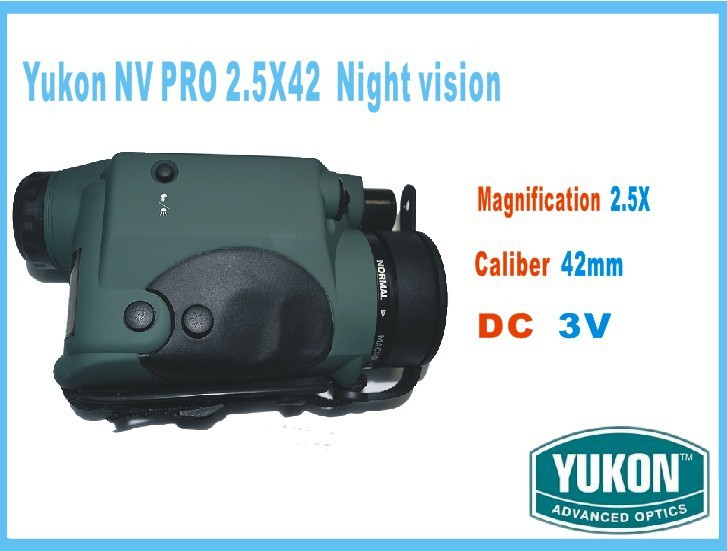 Original Russia YukonNV PRO 2.5X42 night vision goggles moncular with max 200m<br><br>Aliexpress