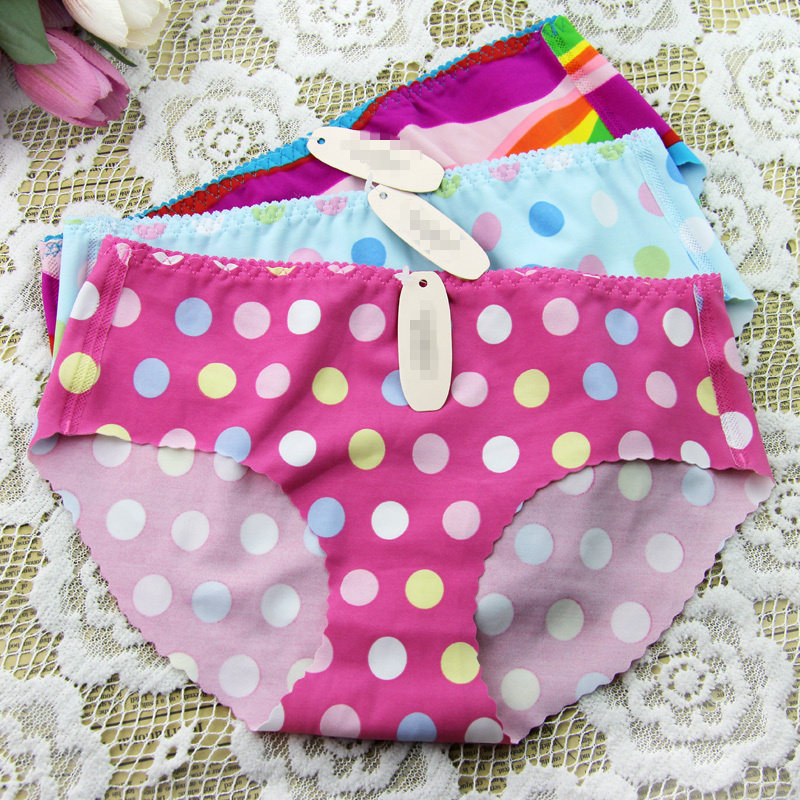 new 3pcs/lot free shipping panties girl fashion briefs lady underwear sex Lace Ultra-thin No trace Leopard(China (Mainland))