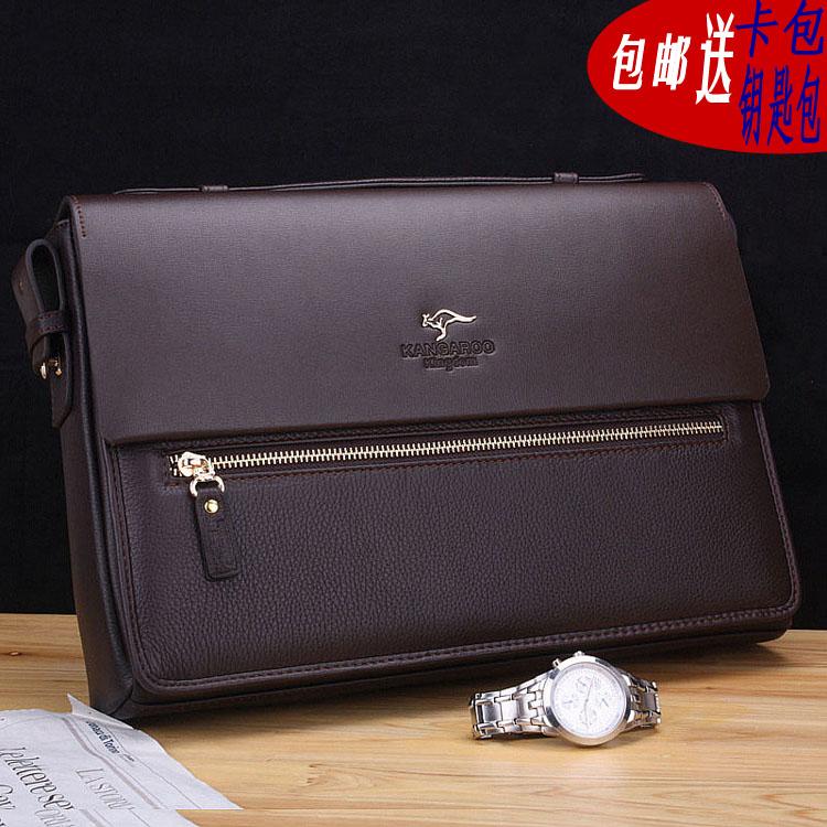 Kangaroo Male Package Laptop Briefcase Messenger Bag Shoulder Bag