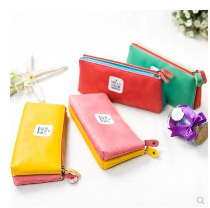 Korea Macaron double Creative Pencil case pencil bag<br><br>Aliexpress
