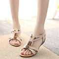 Hot Sale Women Sandals Women s Summer shoes peep toe flat Shoes Roman sandals mujer sandalias