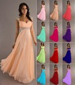 Stock Chiffon A Line Sweetheart Cap Sleeve Beading Bridesmaid Dresses Wedding Party Dress Robe De Soiree