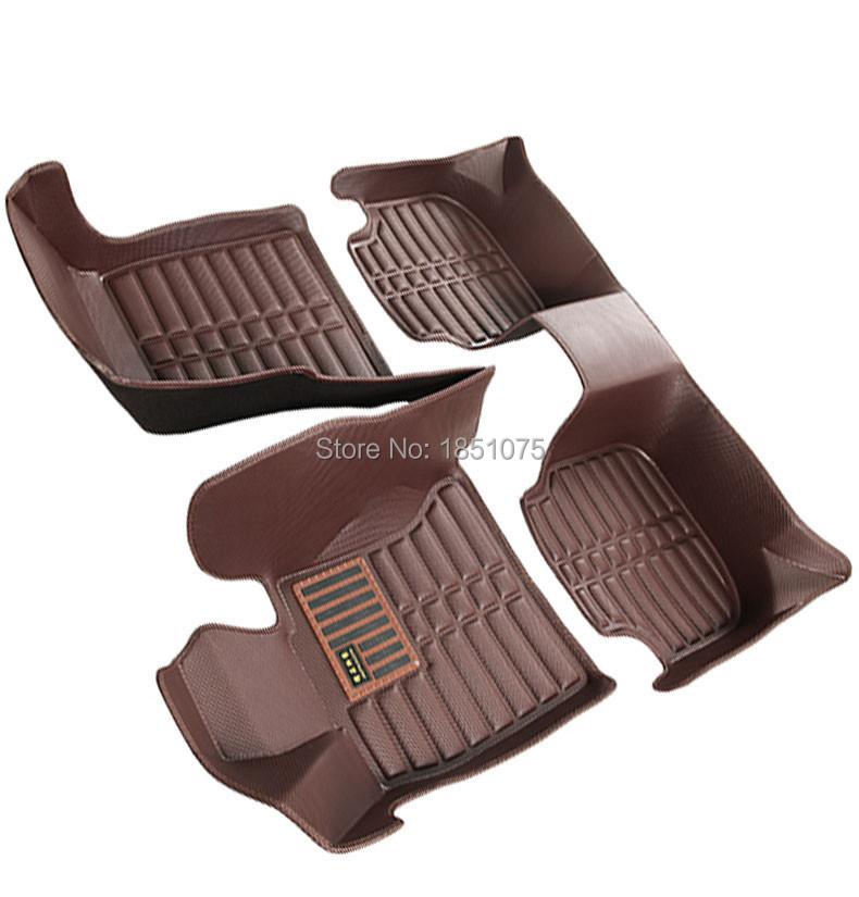 Custom fit car floor mats for Land Rover Discovery 3/4 freelander 2 Sport Range Sport Evoque 5D TOYOTA prado carpet liner RY217(China (Mainland))