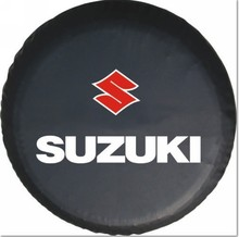 "wholesale! accept custom-made 15"",14"" SUZUKI VITARA Jimny PVC spare tyre cover spare wheel cover(China (Mainland))"