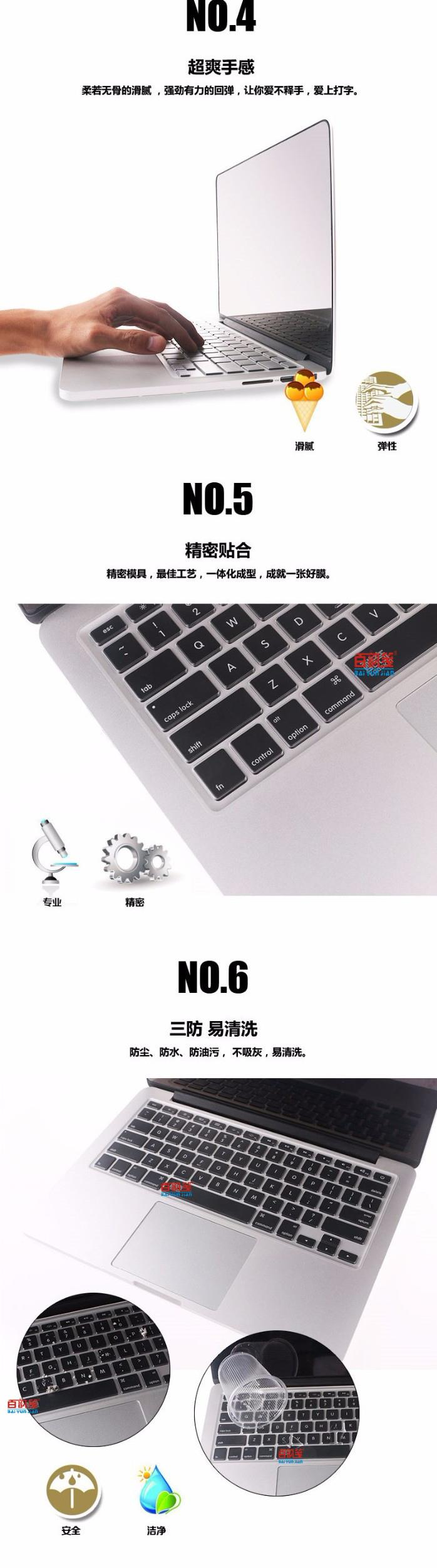High Clear Tpu Keyboard Cover Guard For Dell Latitude 7370