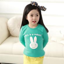 New Design Infants Cute long sleeve Cartoon T shirt ,kids Boy girls T-Shirt Autume Spring Tops & Tees