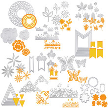 Buy 13 models Metal DIY Scrapbooking Embossing Album Paper Card Craft Photo album decor Cutting Dies Stencil molds cutting moulds for $1.37 in AliExpress store