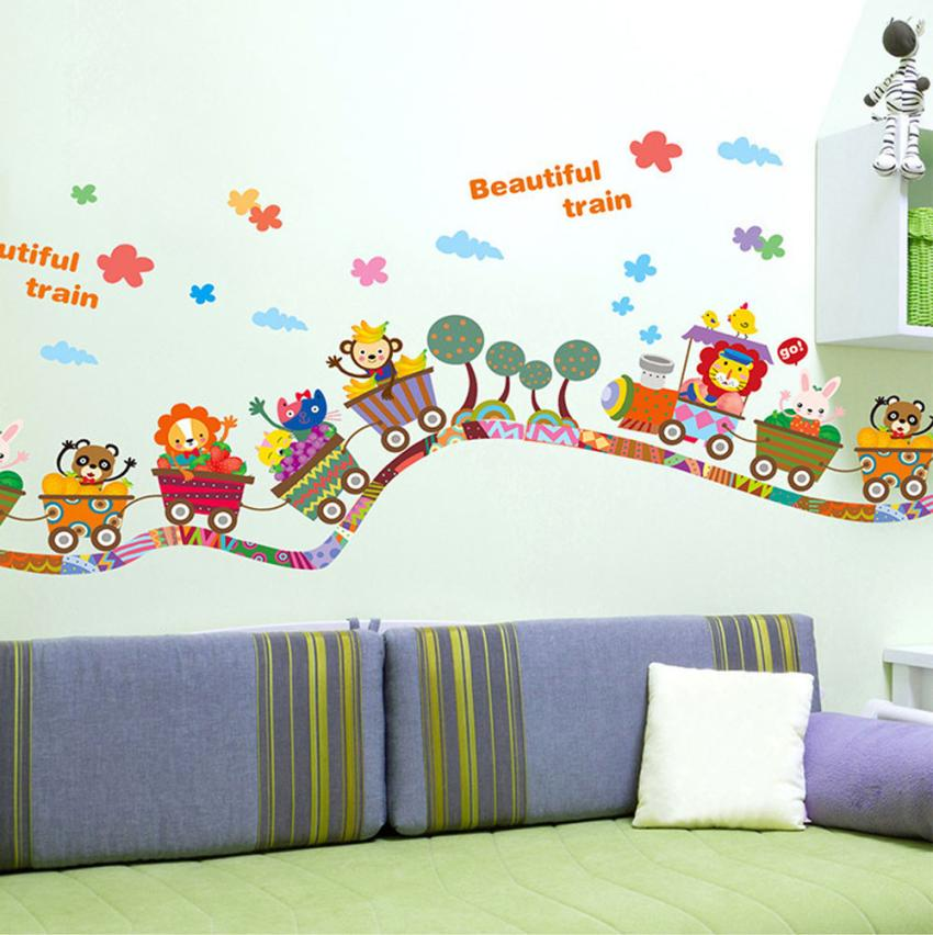 Train decal promotion shop for promotional train decal on for Interieur stickers