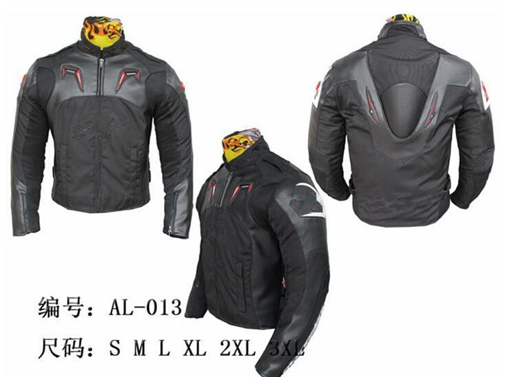 2014 new Oxford cloth 600D + PU leather Motorcycle jackets racing jacket motorcycle racing hump jacket(China (Mainland))