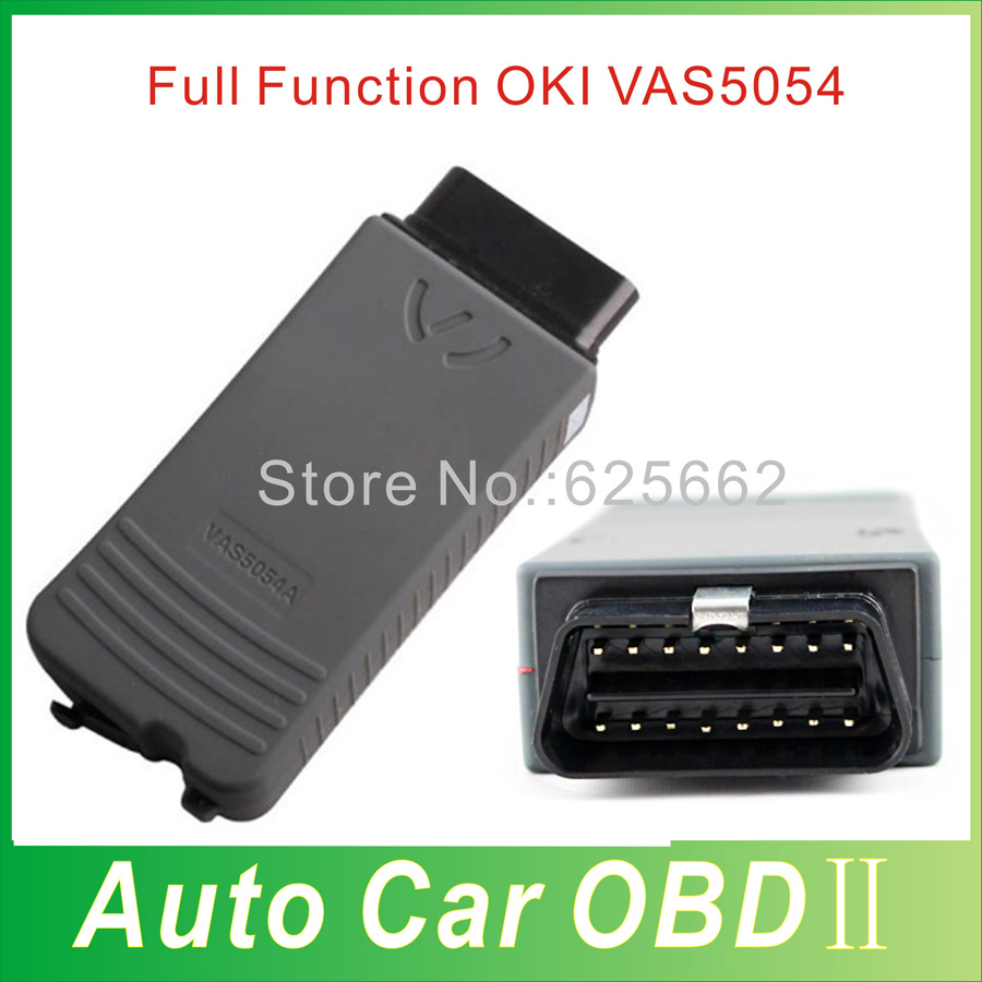 Quality A+++ Full OKI Chip VAS 5054A ODIS v3.0.3 VW VAS 5054 Diagnostic Tool 100% Support UDS Protocol DHL free shipping(China (Mainland))