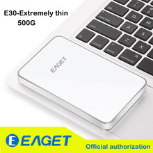 Original EAGET E30 500G USB 3.0 HDD High-Speed Extreme-thin External Hard Drives Portable Desktop Laptop Mobile Hard Disk(China (Mainland))