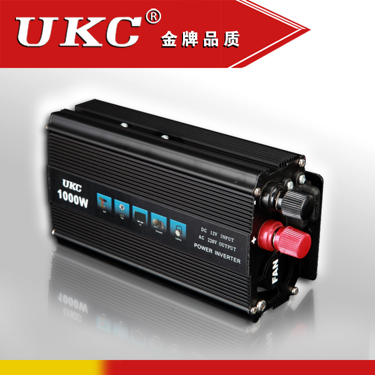 Foot power 1000W electric vehicle power inverter power inverter used for treasure(China (Mainland))