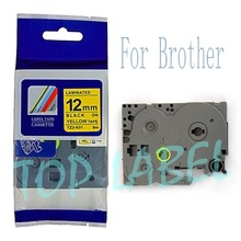 Buy Compatible Brother TZe631 TZe-631 TZe 631 Ptouch 12mm Black Yellow TZe TZ Tape Cartridge Label Maker Tape TZ631 TZ-631 TZ 631 for $5.99 in AliExpress store