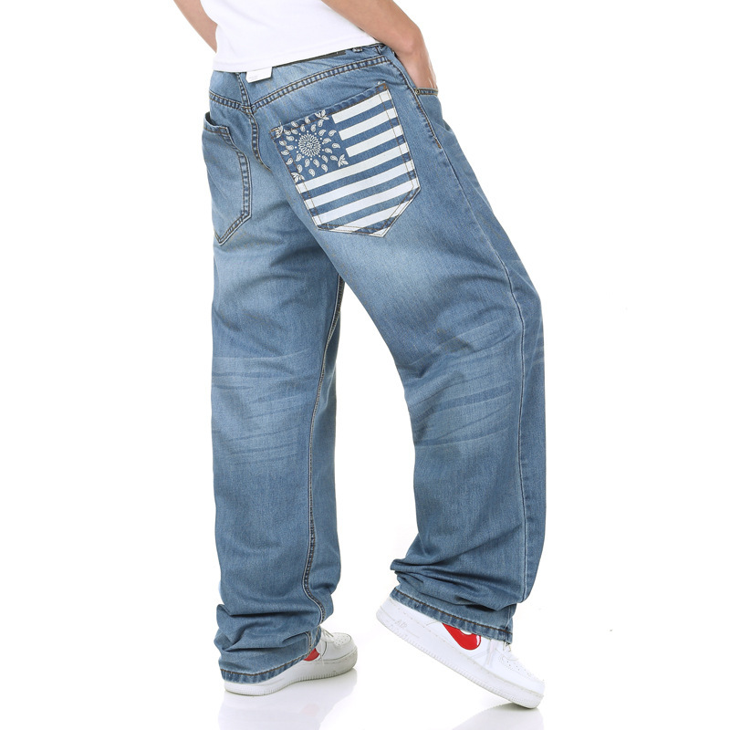 Baggy Light Blue Jeans Men's Light Blue Baggy Jeans