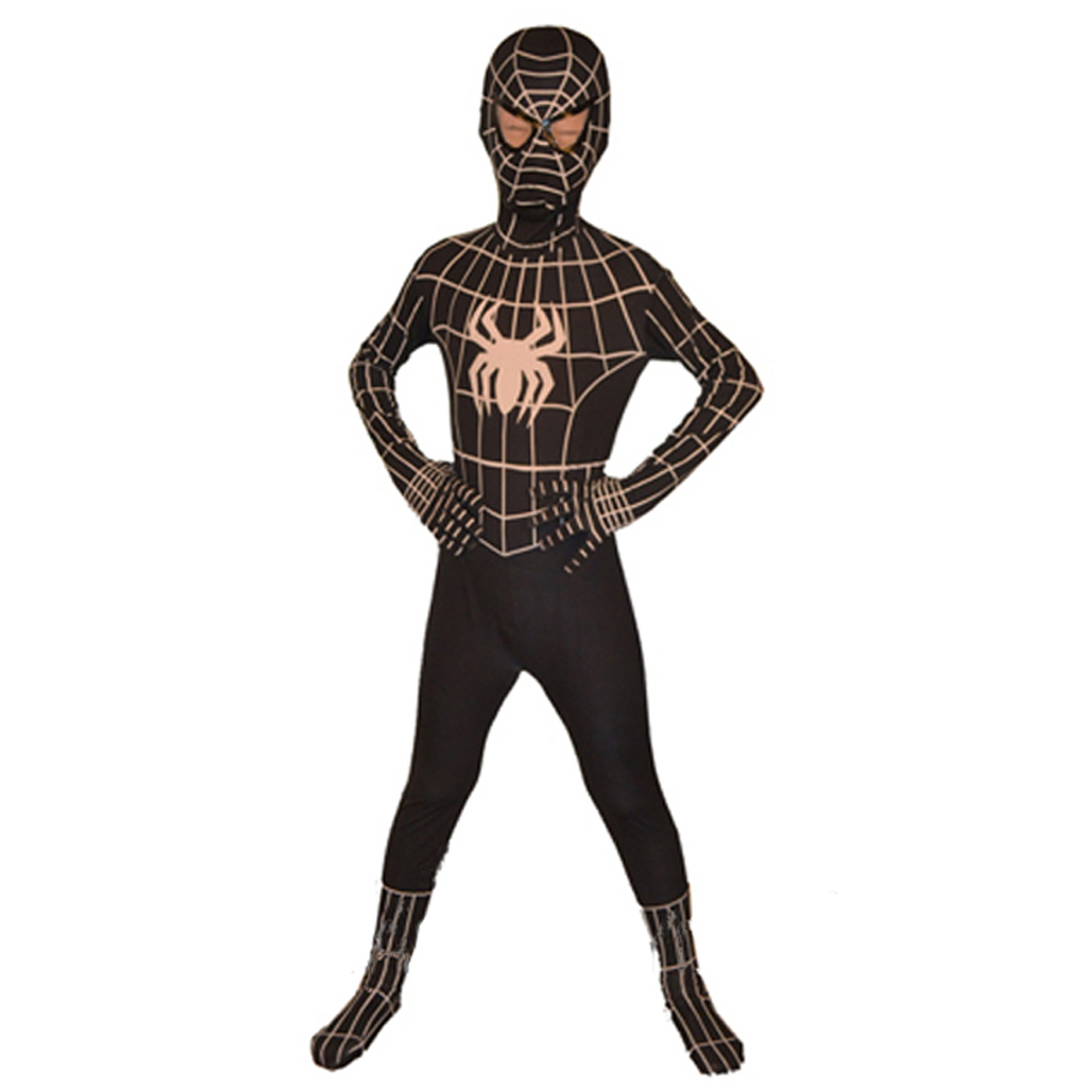 how to make a spiderman costume for kids