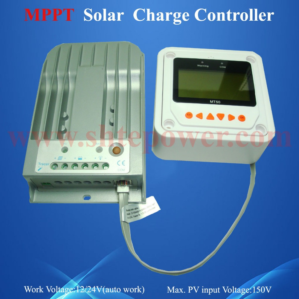 Free Shipping Solar Controller 10A, Tracer1215 10a MPPT Solar Battery Charger Control(China (Mainland))