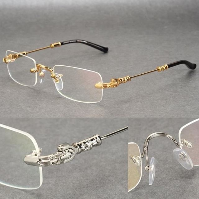 Popular Vintage Rimless Eyeglasses-Buy Cheap Vintage ...