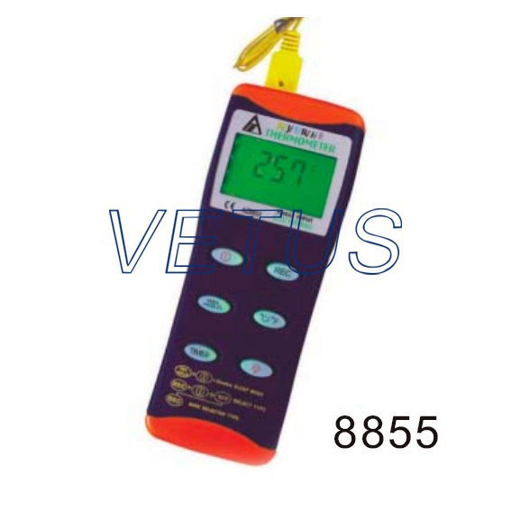 Фотография AZ8855 Digital Thermocouple Thermometer with measuring range -200~1370C AZ-8855