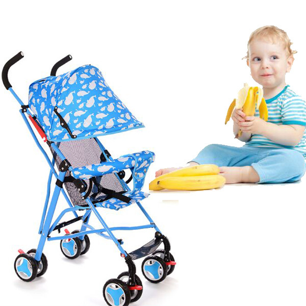 2015 new color body baby stroller high landscape, can sit lie, shock absorbers, two-way, foldable, 3 in 1 aluminum stroller(China (Mainland))