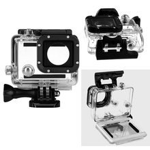 Gopro Hero 3+ 4 Waterproof Housing Case 60m Underwater Diving Waterproof Shell Cover Housing Skeleton frame for Go Pro Camera