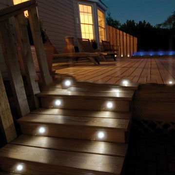 (15 pieces/ lot) 40MM RGB LED Decor Light Set Outdoor Receesed Decking Kit: 15pcs Lights & 1pc 30W Power Supply & 1pc controller(China (Mainland))