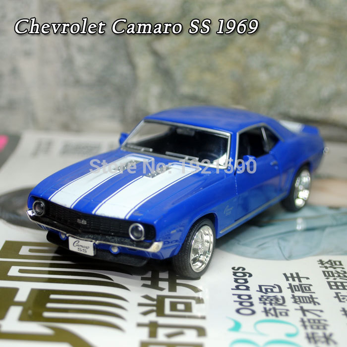 Brand New UNI 1/36 Scale USA 1969 Chevrolet Camaro SS Vintage Diecast Metal Car Model Toy For Collection/Gift/Kids(China (Mainland))