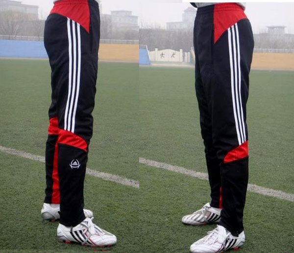 2014 spring summer male trousers sports pants shorts man football legs slim running - yuetao wu's store