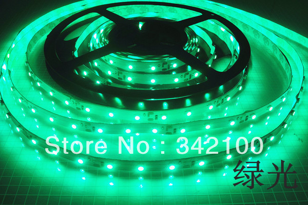 [Hosim] 3528 LED Strip SMD Flexible light 60leds/m outdoor waterproof white/red/green/blue/yellow strip free ship(China (Mainland))