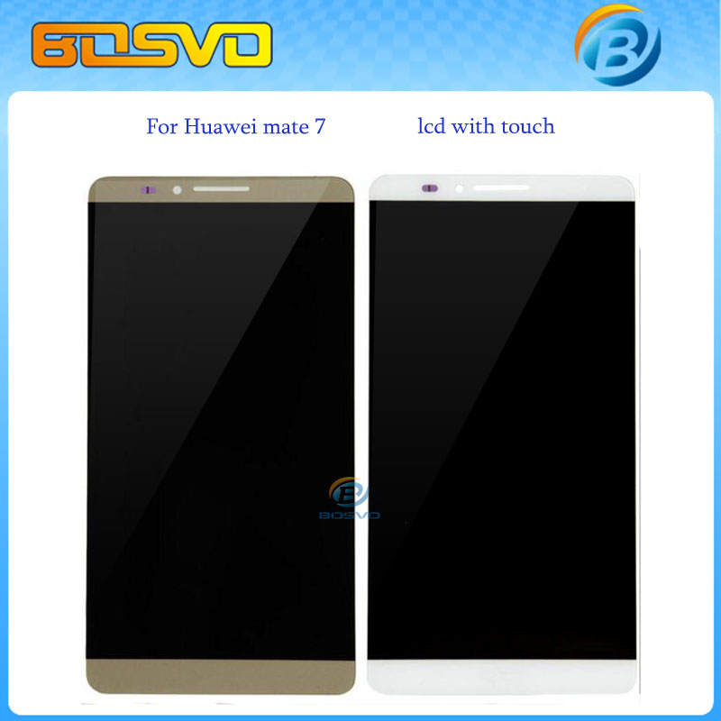 Replacement full screen for Huawei mate 7 LCD display with touch digitizer glass MT7-TL00 assembly 1 piece free shipping+tools(China (Mainland))