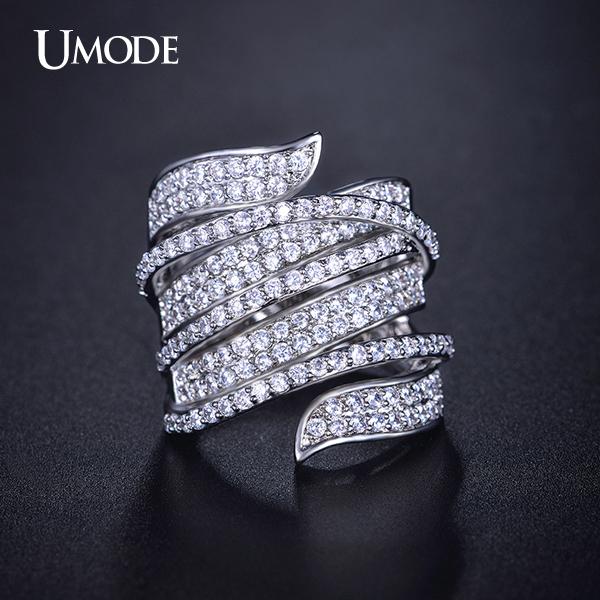 Cz Diamond Cocktail Ring