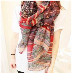 Большой размер богема национальная тенденция шарф женский ромб геометрия мыс кондиционер бесплатная доставка PT35