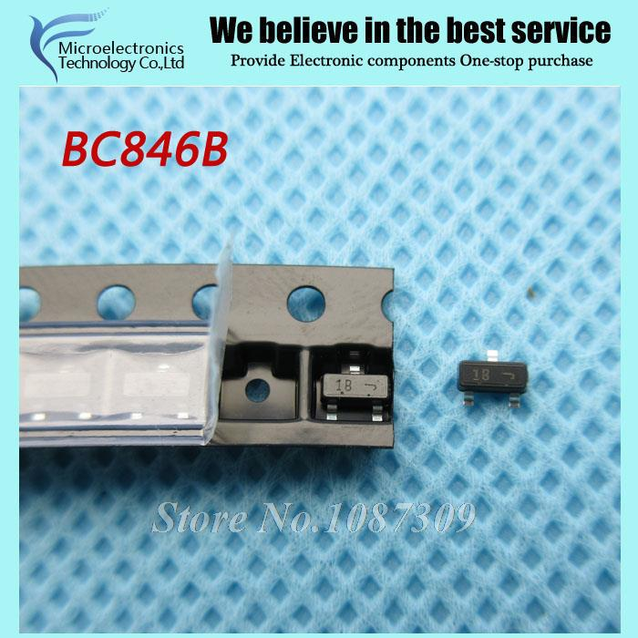 Гаджет  50pcs free shipping BC846B BC846 Bipolar Transistors - BJT Transistor 200mW  SOT23-3 new original None Электронные компоненты и материалы