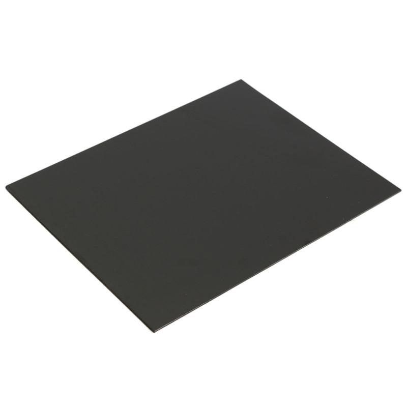 1pc ABS Styrene Plastic Flat Sheet Plate 1.5mm x 200mm x 250mm, Black #EH-3 Hot Sale(China (Mainland))
