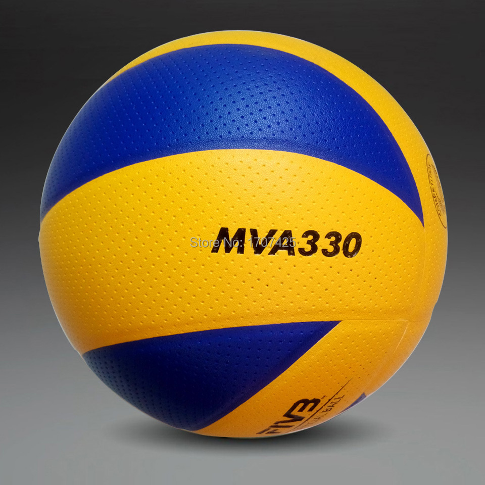 New Brand 2014 size 5 PU volleyball official match MVA330 volleyballs indoor training competition volleyball balls Free shipping(China (Mainland))