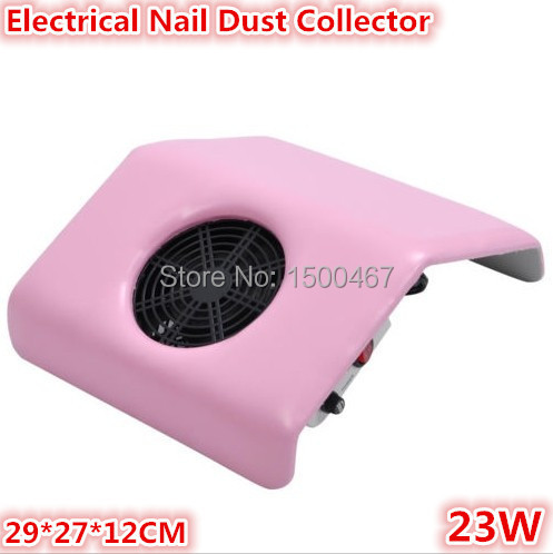 Free shipping Nail Art Dust Suction Collector Machine Vacuum Cleaner Salon Tool+2pcs bags(China (Mainland))
