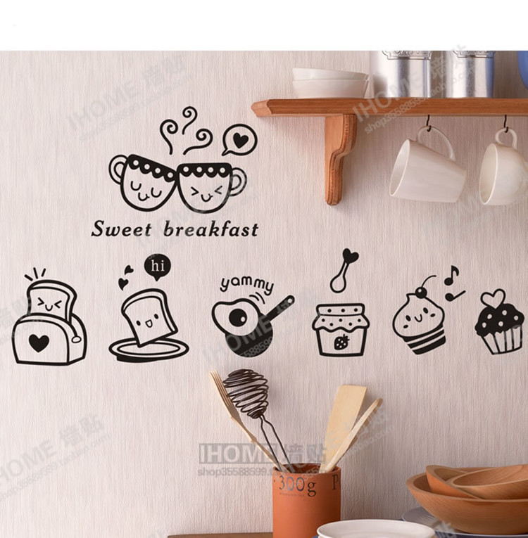 stickers for kitchen picture - more detailed picture about sweet ... - Stickers Per Cucina