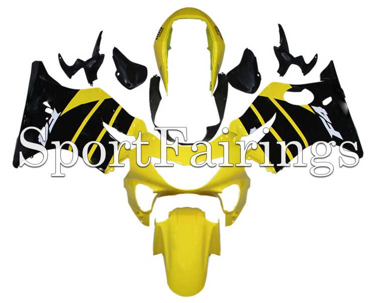 Fairings For Honda CBR600 F4 Year 99 00 1999 2000 Injection ABS Motorcycle Fairing Kit Bodywork Motorbike Cowling Yellow Black(China (Mainland))