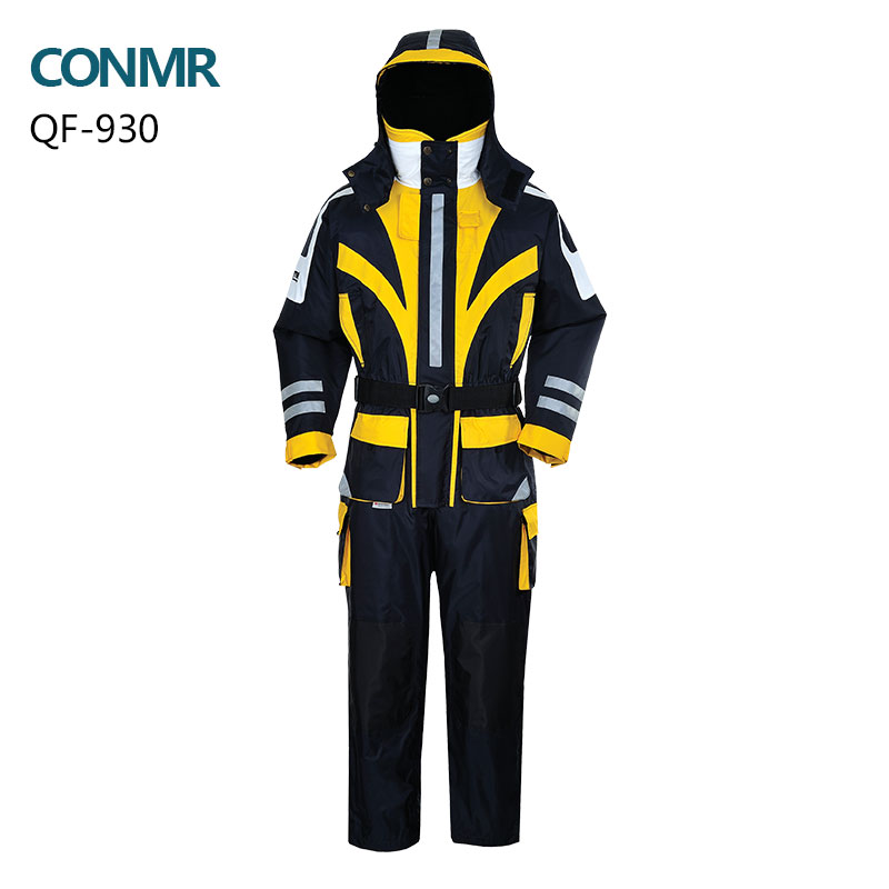 professional Winter sea flying fishing clothes with rescue whistle floating life vest Waterproof Windproof outdoor jacket suit(China (Mainland))